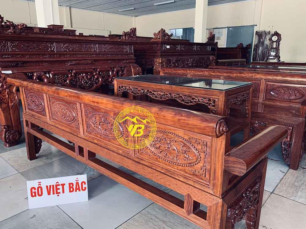 Trường Kỷ Đại Cẩm Lai Vân Chun sang trọng TK202 2